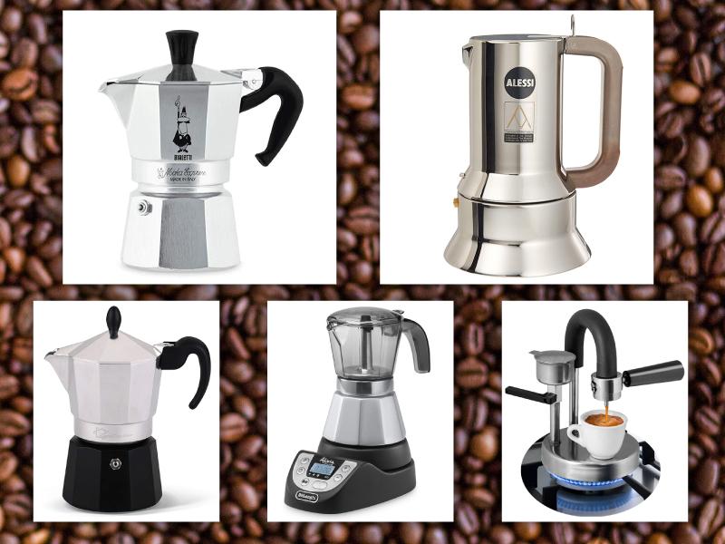 le 5 migliori caffettiere moka
